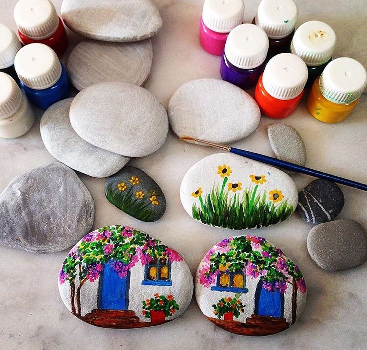 Diy Pebble Art 15 - 55+ Of The Best Creative DIY Ideas For Pebble Art Crafts