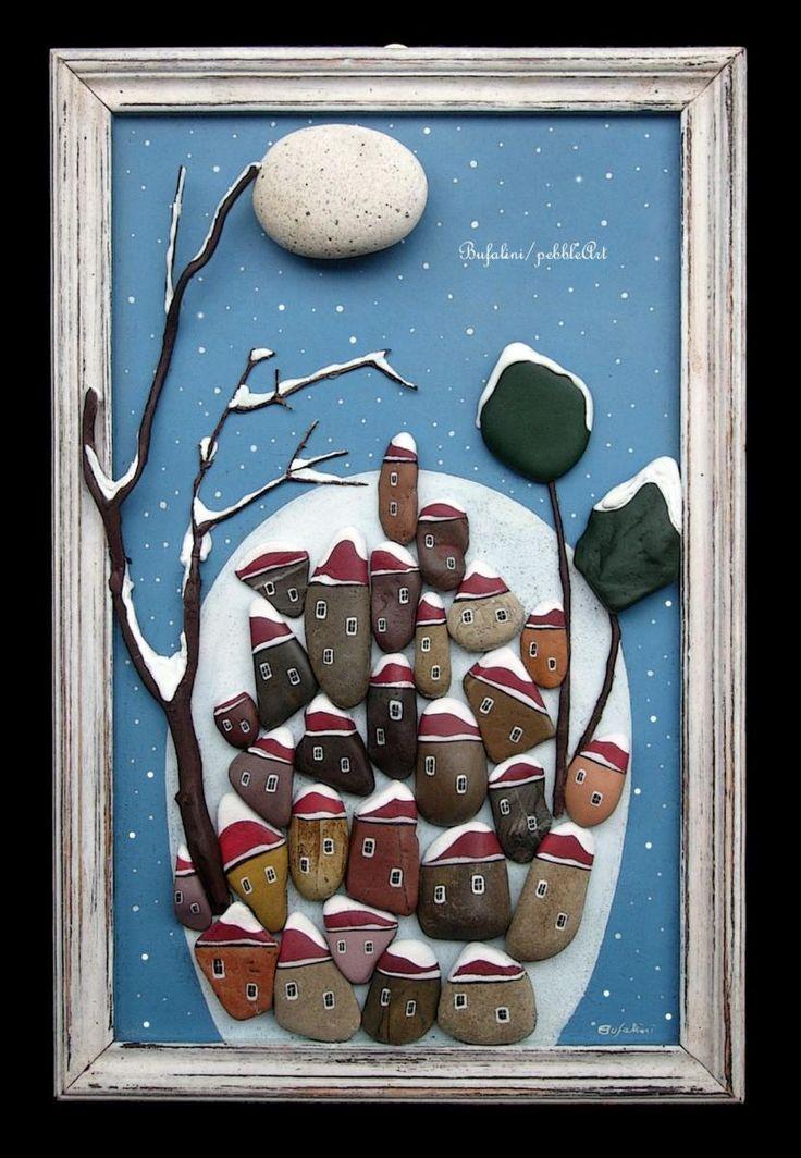 Diy Pebble Art 19 - 55+ Of The Best Creative DIY Ideas For Pebble Art Crafts