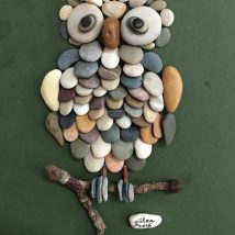 Diy Pebble Art 2 214x214 - 55+ of the Best Creative DIY Ideas For Pebble Art Crafts