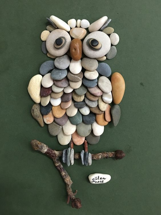 Diy Pebble Art 2 - 55+ Of The Best Creative DIY Ideas For Pebble Art Crafts