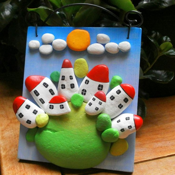 Diy Pebble Art 22 - 55+ Of The Best Creative DIY Ideas For Pebble Art Crafts