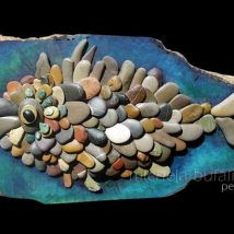 Diy Pebble Art 24 214x214 - 55+ of the Best Creative DIY Ideas For Pebble Art Crafts