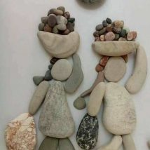 Diy Pebble Art 28 214x214 - 55+ of the Best Creative DIY Ideas For Pebble Art Crafts