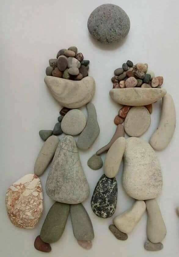 Diy Pebble Art 28 - 55+ Of The Best Creative DIY Ideas For Pebble Art Crafts