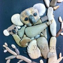 Diy Pebble Art 34 214x214 - 55+ of the Best Creative DIY Ideas For Pebble Art Crafts