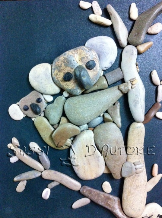 Diy Pebble Art 34 - 55+ Of The Best Creative DIY Ideas For Pebble Art Crafts