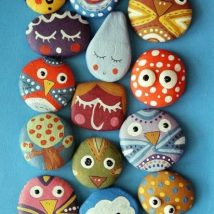 Diy Pebble Art 37 214x214 - 55+ of the Best Creative DIY Ideas For Pebble Art Crafts