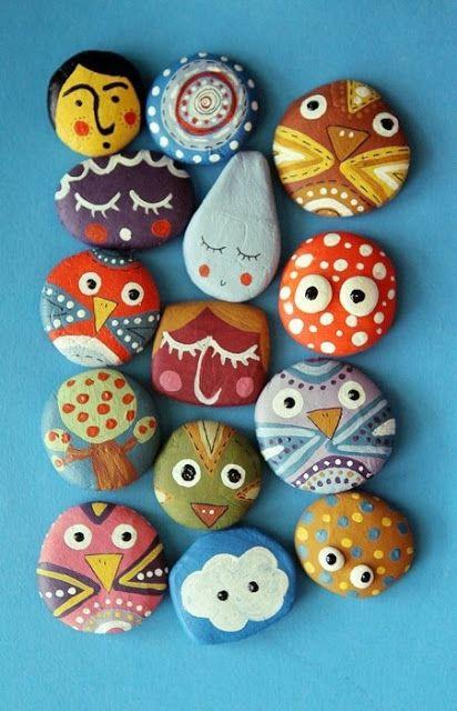Diy Pebble Art 37 - 55+ Of The Best Creative DIY Ideas For Pebble Art Crafts