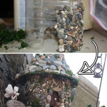 Diy Pebble Art 48 214x214 - 55+ of the Best Creative DIY Ideas For Pebble Art Crafts
