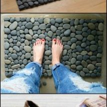 Diy Pebble Art 49 214x214 - 55+ of the Best Creative DIY Ideas For Pebble Art Crafts