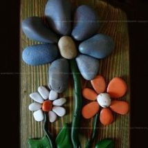 Diy Pebble Art 7 214x214 - 55+ of the Best Creative DIY Ideas For Pebble Art Crafts