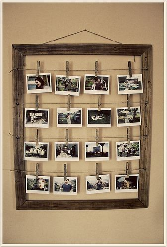 Diy Picture Frames 1 - 44+ Best DIY Picture Frame Ideas