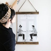 Diy Picture Frames 17 214x214 - 44+ Best DIY Picture Frame Ideas