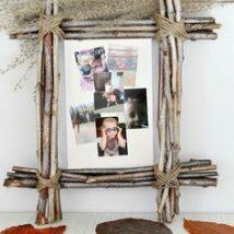 Diy Picture Frames 19 214x214 - 44+ Best DIY Picture Frame Ideas