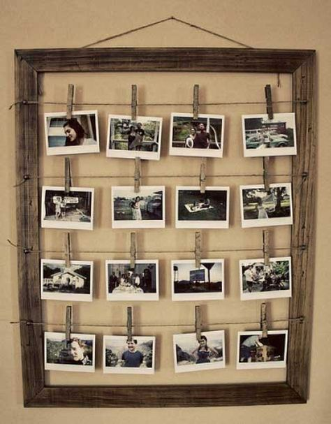 Diy Picture Frames 20 - 44+ Best DIY Picture Frame Ideas