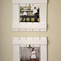Diy Picture Frames 21 214x214 - 44+ Best DIY Picture Frame Ideas