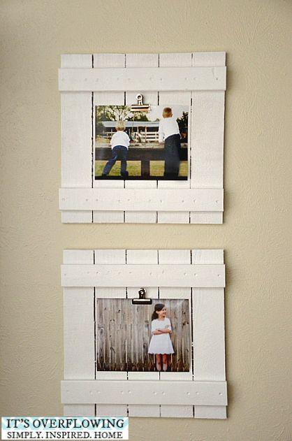 Diy Picture Frames 21 - 44+ Best DIY Picture Frame Ideas
