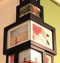 Diy Picture Frames 25 206x214 - 44+ Best DIY Picture Frame Ideas
