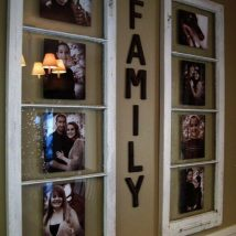 Diy Picture Frames 8 214x214 - 44+ Best DIY Picture Frame Ideas