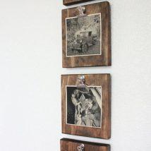 Diy Picture Frames 9 214x214 - 44+ Best DIY Picture Frame Ideas