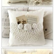 Diy Pillow Slipcover 20 214x214 - Looking for DIY Pillow Cover Ideas ?