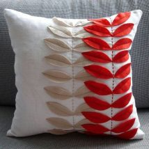 Diy Pillow Slipcover 28 214x214 - Looking for DIY Pillow Cover Ideas ?