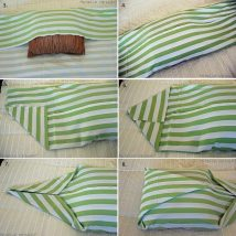 Diy Pillow Slipcover 41 214x214 - Looking for DIY Pillow Cover Ideas ?