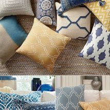 Diy Pillow Slipcover 45 214x214 - Looking for DIY Pillow Cover Ideas ?