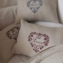 Diy Pillow Slipcover 48 214x214 - Looking for DIY Pillow Cover Ideas ?