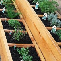 Diy Raised Planters 13 214x214 - Best DIY Raised Planters Ideas you can find