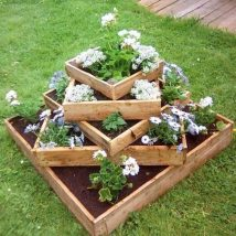 Diy Raised Planters 15 214x214 - Best DIY Raised Planters Ideas you can find