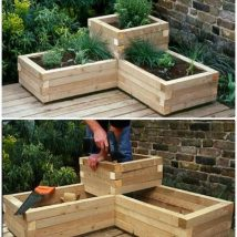 Diy Raised Planters 16 214x214 - Best DIY Raised Planters Ideas you can find