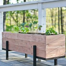 Diy Raised Planters 21 214x214 - Best DIY Raised Planters Ideas you can find