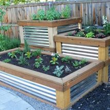 Diy Raised Planters 22 214x214 - Best DIY Raised Planters Ideas you can find