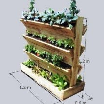 Diy Raised Planters 24 214x214 - Best DIY Raised Planters Ideas you can find