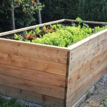 Diy Raised Planters 30 214x214 - Best DIY Raised Planters Ideas you can find