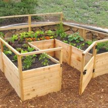 Diy Raised Planters 36 214x214 - Best DIY Raised Planters Ideas you can find
