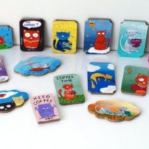 Diy Refrigator Magnets 42 214x214 - Coolest DIY Refrigerator Magnets for anyone