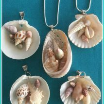 Diy Sea Shell Projects 17 214x214 - 35+ Awesome Ideas to be Done With Seashells