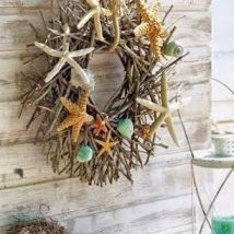 Diy Sea Shell Projects 2 214x214 - 35+ Awesome Ideas to be Done With Seashells