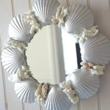 Diy Sea Shell Projects 21 214x214 - 35+ Awesome Ideas to be Done With Seashells