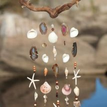 Diy Sea Shell Projects 25 214x214 - 35+ Awesome Ideas to be Done With Seashells