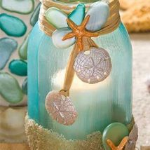 Diy Sea Shell Projects 28 214x214 - 35+ Awesome Ideas to be Done With Seashells