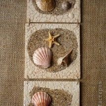 Diy Sea Shell Projects 41 214x214 - 35+ Awesome Ideas to be Done With Seashells