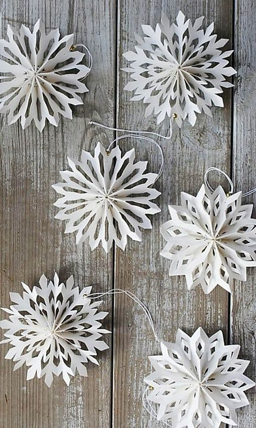 Diy Snowflakes 1 - Coolest DIY Snowflakes You Can Make Easily