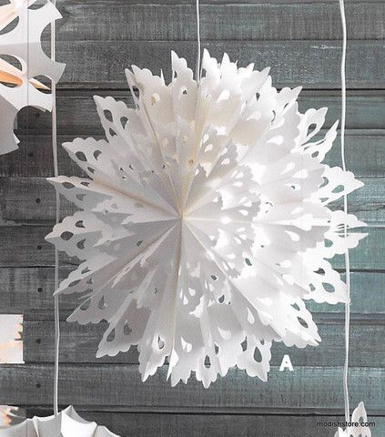 Diy Snowflakes 24 - Coolest DIY Snowflakes You Can Make Easily