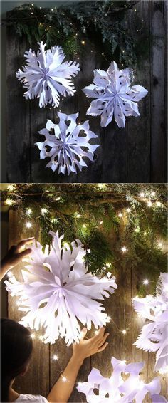 Diy Snowflakes 25 - Coolest DIY Snowflakes You Can Make Easily