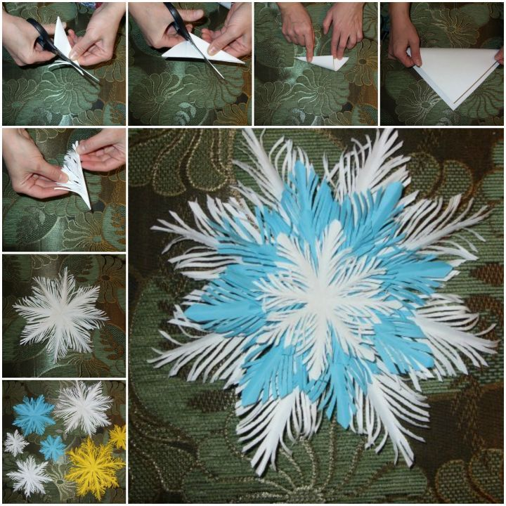 Diy Snowflakes 26 - Coolest DIY Snowflakes You Can Make Easily