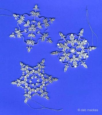 Diy Snowflakes 31 - Coolest DIY Snowflakes You Can Make Easily