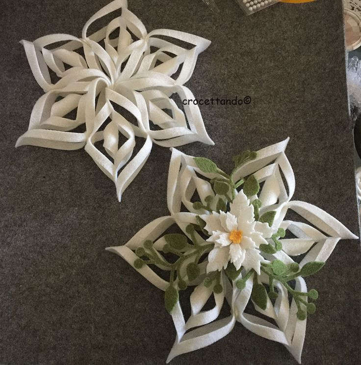 Diy Snowflakes 7 - Coolest DIY Snowflakes You Can Make Easily